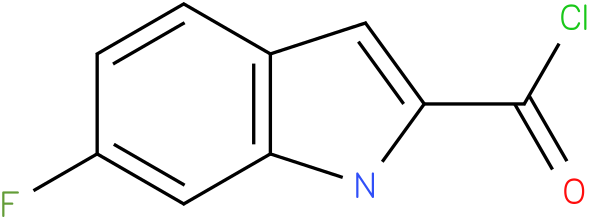 6-FLUORO-1H-INDOLE-2-CARBONYL CHLORIDE