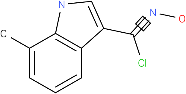 7-METHYL-1H-INDOLE-3-CARBOXIMIDOYL CHLORIDE,N-HYDROXY