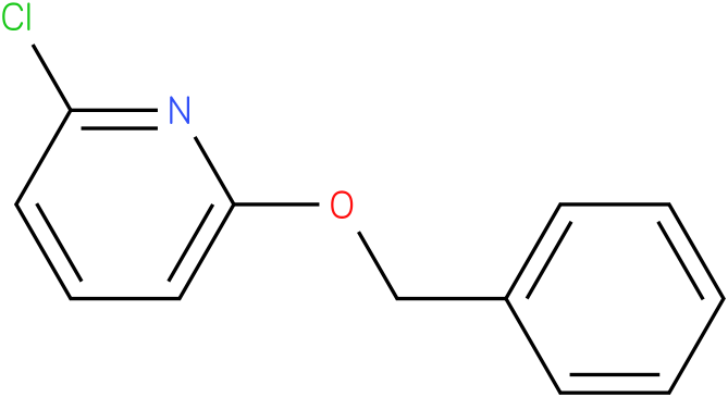 PYRIDINE,2-CHLORO-6-(PHENYLMETHOXY)-