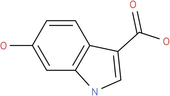 1H-INDOLE-3-CARBOXYLIC ACID,6-HYDROXY