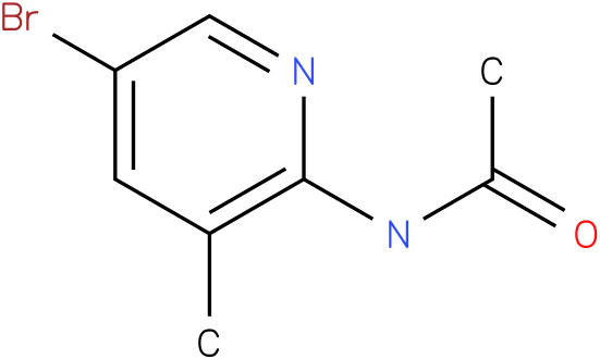 Acetamide,N-(5-bromo-3-methyl-2-pyridinyl)-