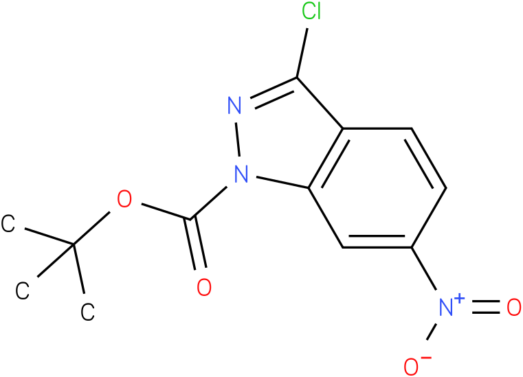 1H-INDAZOLE-1-CARBOXYLIC ACID,3-CHLORO-6-NITRO-,1,1-DIMETHYLETHYL ESTER