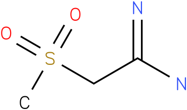 2-(methylsulfonyl)acetamidine