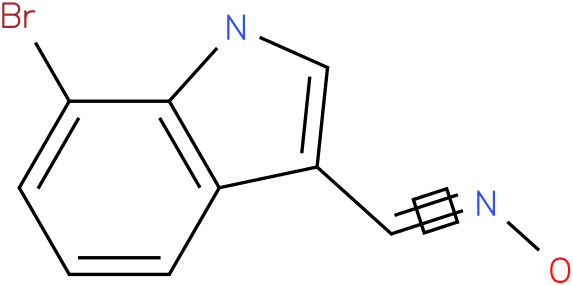 7-BROMO-1H-INDOLE-3-CARBOXALDEHYDE OXIME