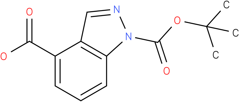 1-(TERT-BUTOXYCARBONYL)-1H-INDAZOLE-4-CARBOXYLIC ACID