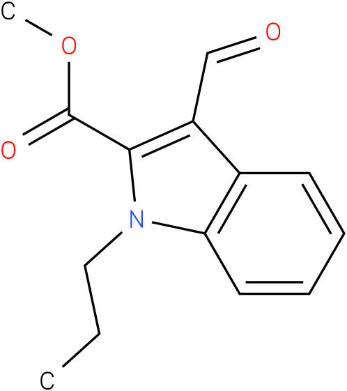 METHYL 3-FORMYL-1-PROPYL-1H-INDOLE-2-CARBOXYLATE