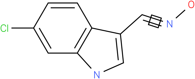 6-CHLORO-1H-INDOLE-3-CARBOXALDEHYDE OXIME