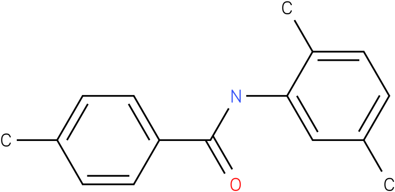 BENZAMIDE,N-(2,5-DIMETHYLPHENYL)-4-METHYL