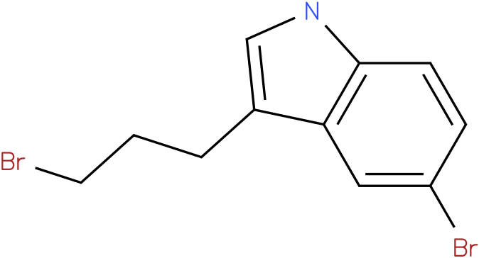 1H-INDOLE,5-BROMO-3-(3-BROMOPROPYL)-