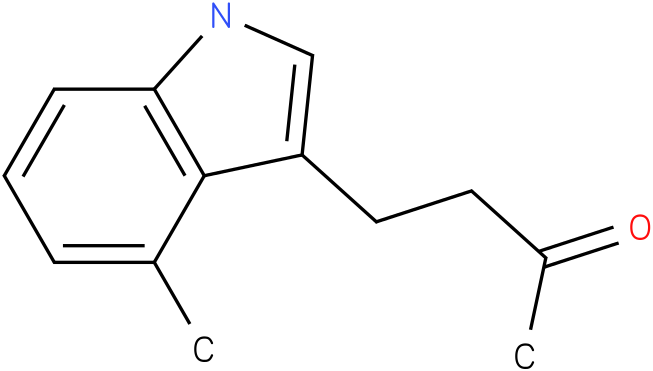 2-BUTANONE,4-(4-METHYL-1H-INDOL-3-YL)-