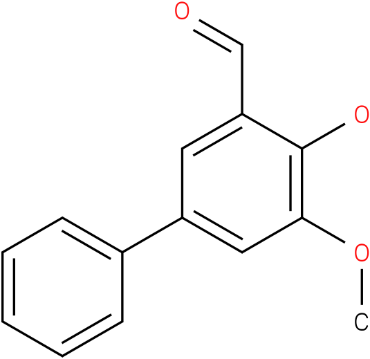 [1,1'-BIPHENYL]-3-CARBOXALDEHYDE,4-HYDROXY-5-METHOXY