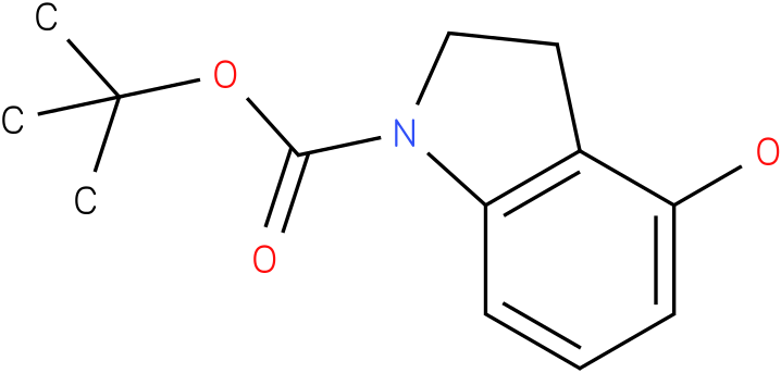 1H-INDOLE-1-CARBOXYLIC ACID,2,3-DIHYDRO-4-HYDROXY-,1,1-DIMETHYLETHYL ESTER
