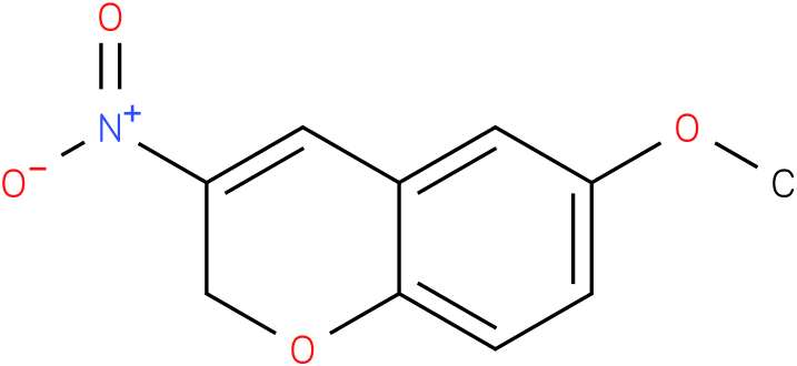 2H-BENZOPYRAN,6-METHOXY-3-NITRO-