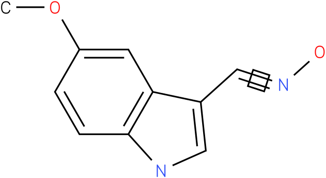 5-METHOXY-1H-INDOLE-3-CARBOXALDEHYDE OXIME