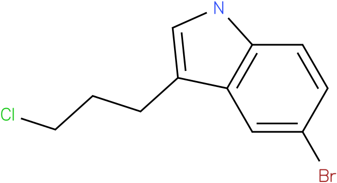 1H-INDOLE,5-BROMO-3-(3-CHLOROPROPYL)-