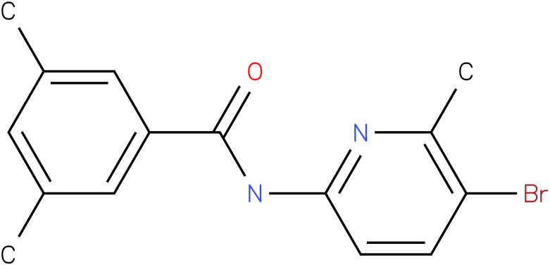 Benzamide,N-(5-bromo-6-methyl-2-pyridinyl)-3,5-dimethyl-