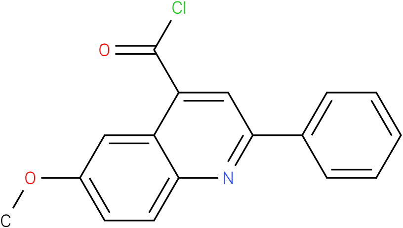 4-QUINOLINECARBONYL CHLORIDE,6-METHOXY-2-PHENYL-