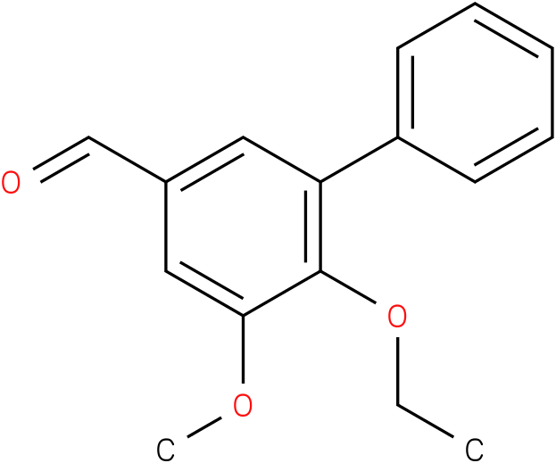 [1,1'-BIPHENYL]-3-CARBOXALDEHYDE,6-ETHOXY-5-METHOXY