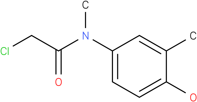 2-chloro-N-(4-hydroxy-3-methylphenyl)-N-methylacetamide