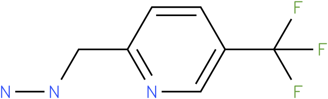 1-((5-(trifluoromethyl)pyridin-2-yl)methyl)hydrazine