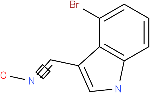 4-BROMO-1H-INDOLE-3-CARBOXALDEHYDE OXIME