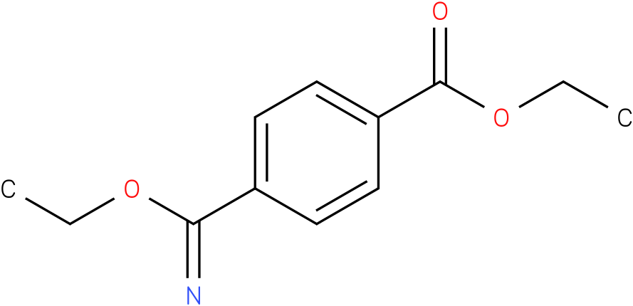 ethyl 4-(ethoxy(imino)methyl)benzoate