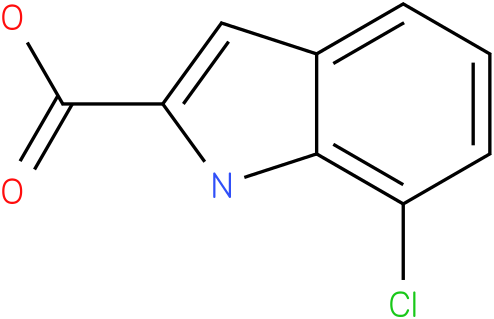 1H-INDOLE-2-CARBOXYLIC ACID,7-CHLORO-