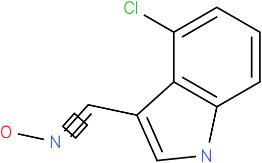 4-CHLORO-1H-INDOLE-3-CARBOXALDEHYDE OXIME