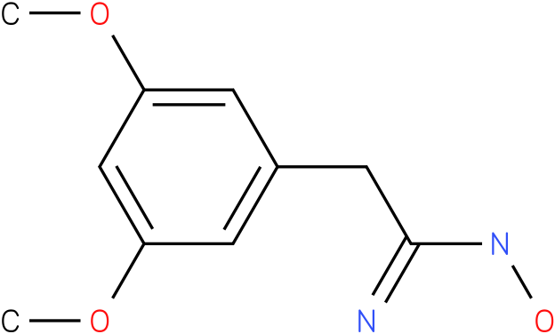 BENZENEETHANIMIDAMIDE,N-HYDROXY-3,5-DIMETHOXY