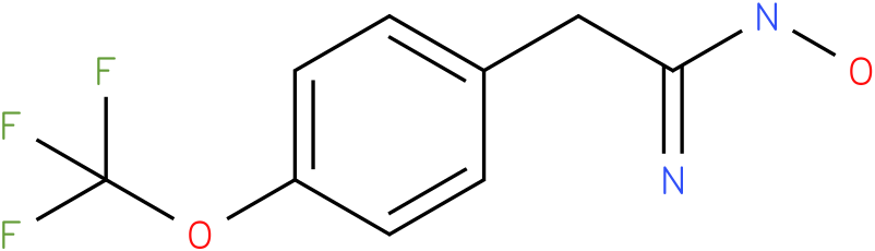 BENZENEETHANIMIDAMIDE,N-HYDROXY-4-(TRIFLUOROMETHOXY)-