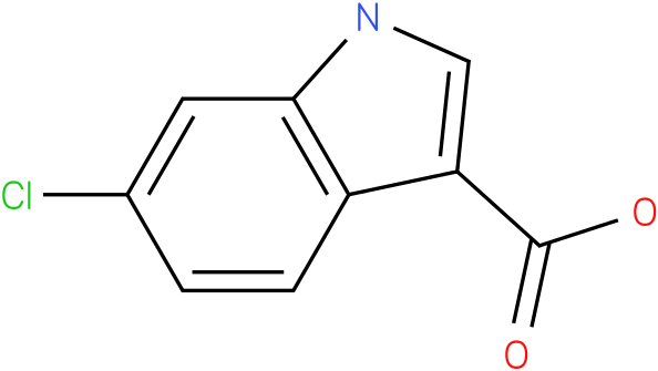 1H-INDOLE-3-CARBOXYLIC ACID,6-CHLORO