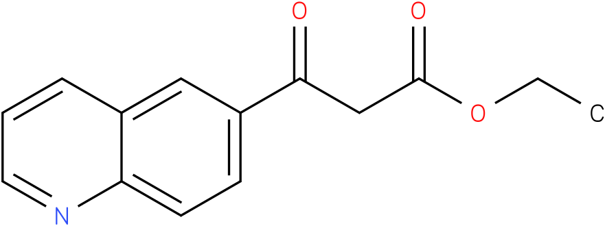 ethyl 3-oxo-3(quinolin-6-yl)propanoate