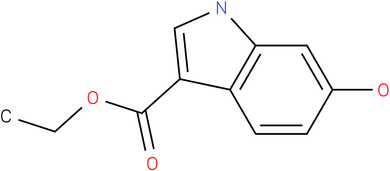 1H-INDOLE-3-CARBOXYLIC ACID,6-HYDROXY-,ETHYL ESTER