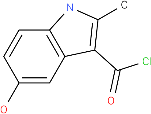 5-HYDROXY-2-METHYL-1H-INDOLE-3-CARBONYL CHLORIDE