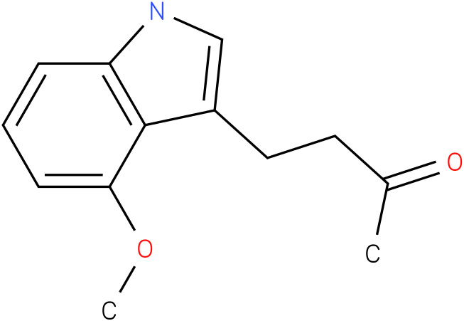 2-BUTANONE,4-(4-METHOXY-1H-INDOL-3-YL)-