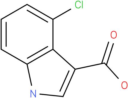 1H-INDOLE-3-CARBOXYLIC ACID,4-CHLORO