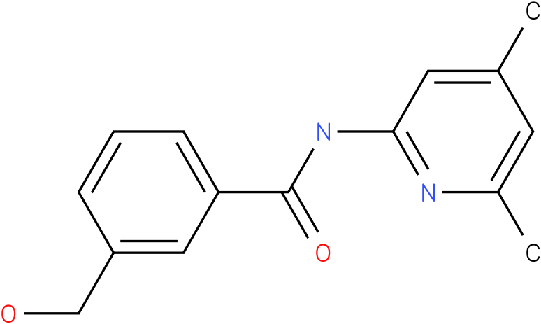 Benzamide,N-(4,6-dimethyl-2-pyridinyl)-3-(hydroxymethyl)-