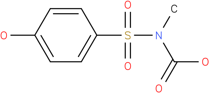 CARBAMIC ACID,[(4-HYDROXYPHENYL)SULFONYL]-,METHYL ESTER (9Cl)