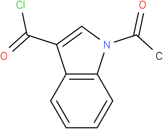 1-ACETYL-1H-INDOLE-3-CARBONYL CHLORIDE