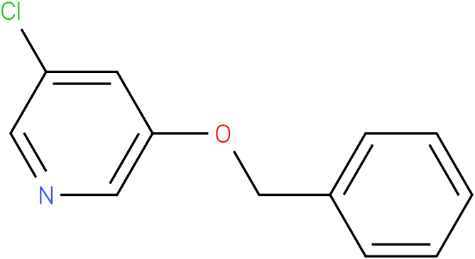 PYRIDINE,3-CHLORO-5-(PHENYLMETHOXY)-