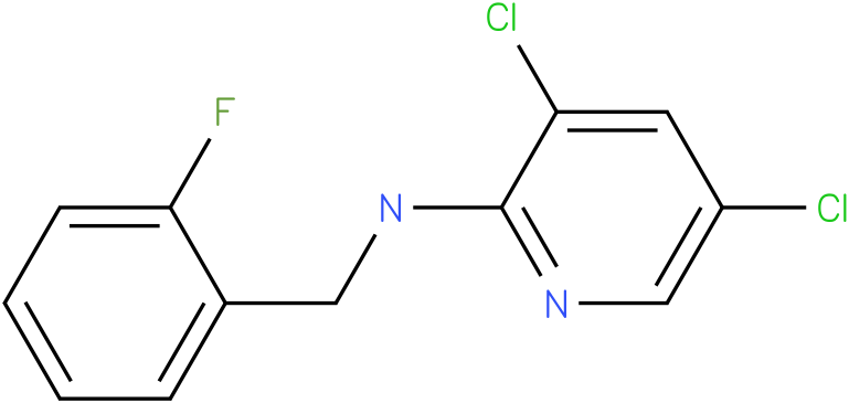 2-Pyridinamine,3,5-dichloro-N-[(2-fluorophenyl)methyl]-