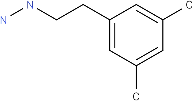1-(3,5-dimethylphenethyl)hydrazine