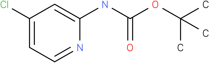 Carbamic acid,N-(4-chloro-2-pyridinyl)-,1,1-dimethylethyl ester