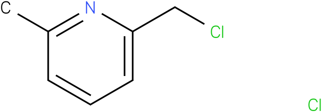 PYRIDINE,2-(CHLOROMETHYL)-6-METHYL-,HYDROCHLORIDE(1:1)