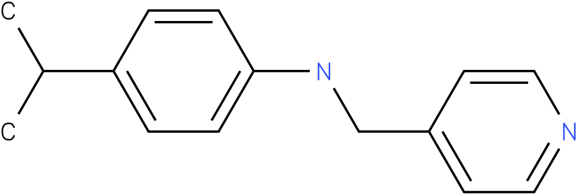 4-isopropyl-N-((pyridin-4-yl)methyl)benzenamine