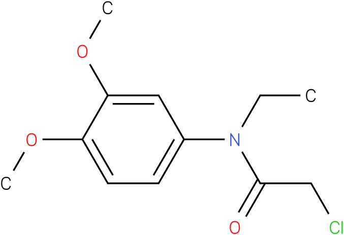 2-chloro-N-ethyl-N-(3,4-dimethoxyphenyl)acetamide