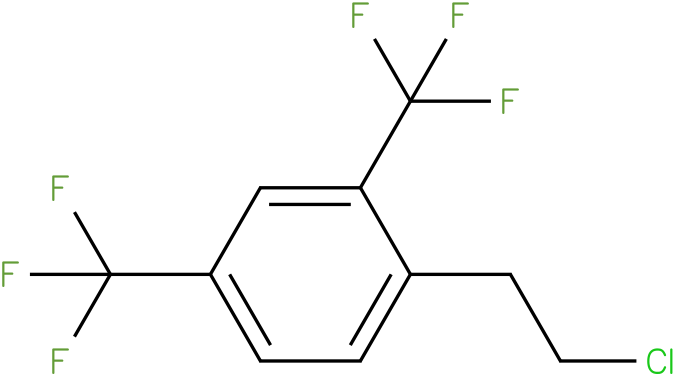 1-(2-chloroethyl)-2,4-bis(trifluoromethyl)benzene