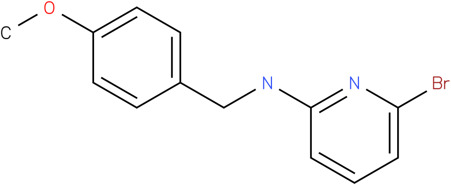 2-Pyridinamine,6-bromo-N-[(4-methoxyphenyl)methyl]-