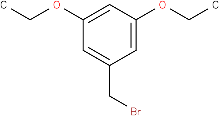 1-(bromomethyl)-3,5-diethoxybenzene