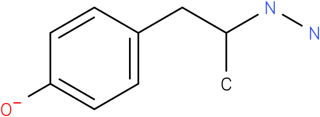 4-(2-hydrazinylpropyl)phenolate